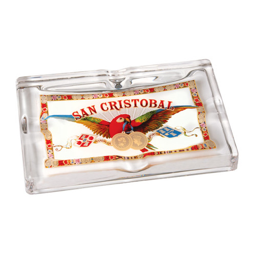 San Cristobal Glass Ashtray