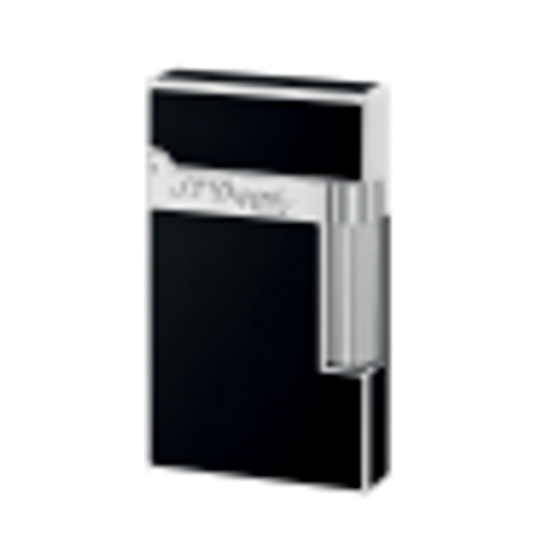 S.T. Dupont Black Chinese Lacquer Palladium Plated Ligne 2 Cigar Lighter