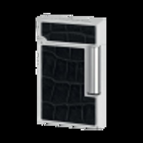 S.T. Dupont Collection Premium Black Alligator Ligne 2 Lighter