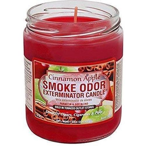 Smoke Odor Candle Cinnamon Apple