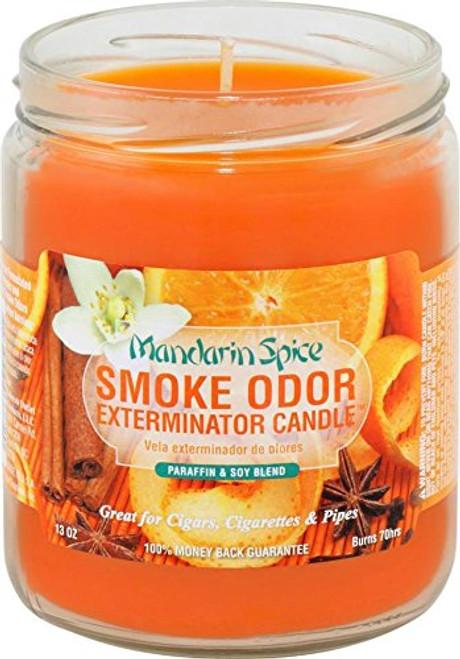 Smoke Odor Candle Mandarin Spice