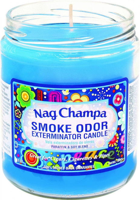 Smoke Odor Candle Nag Champa