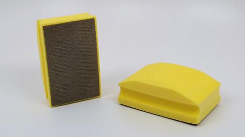 400 Grit Diamond Hand Pad - Yellow