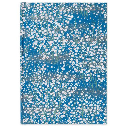 Blue Blossom A5 Notebook