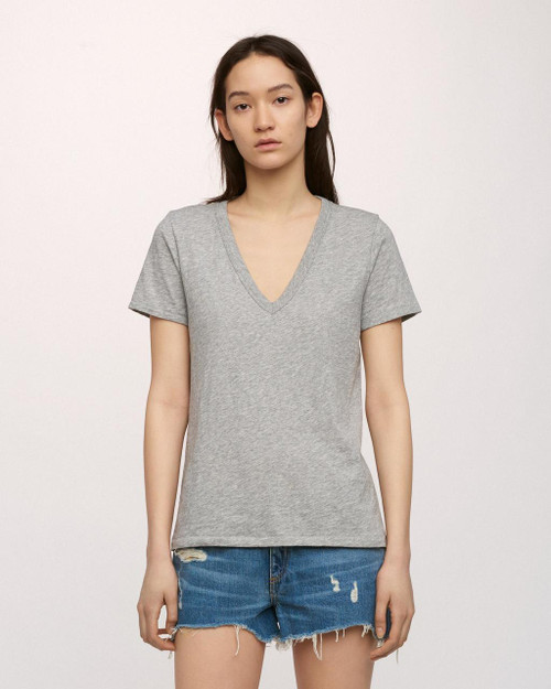The Vee | Heather Grey