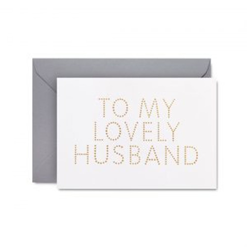 Lovely Husband | Greeting Card