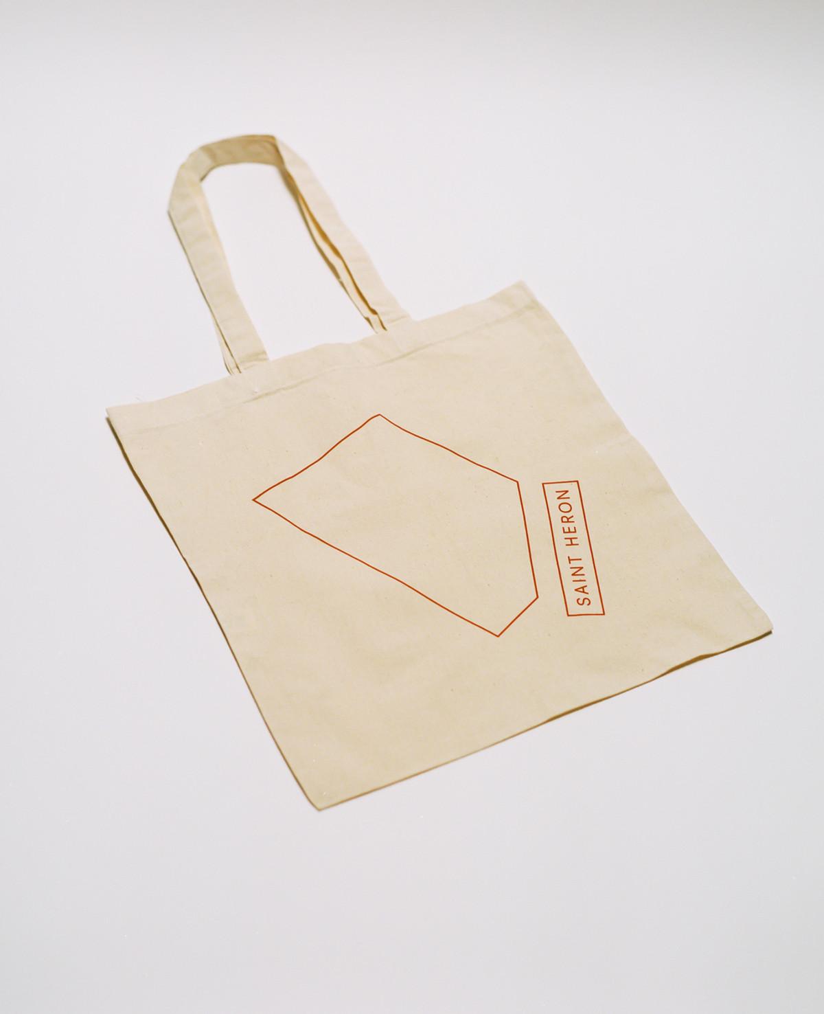 Saint Heron Tote Bag - Geometric