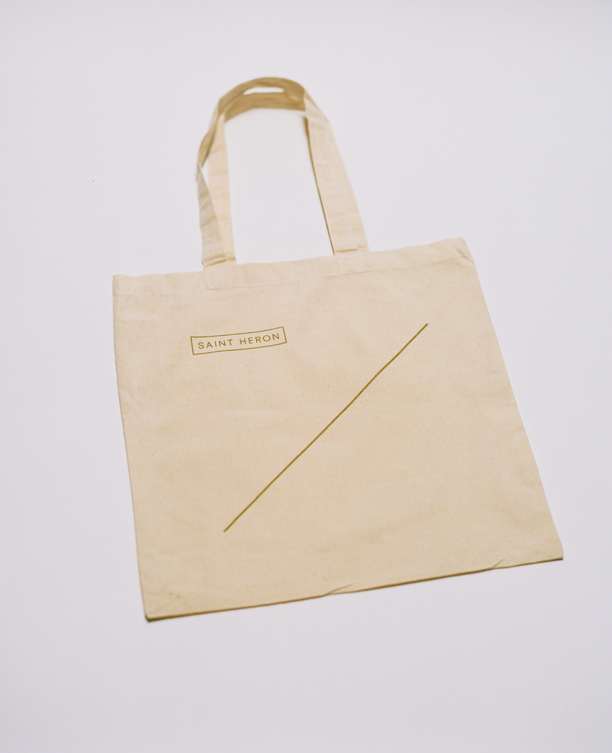 Saint Heron Tote Bag - Golden Line