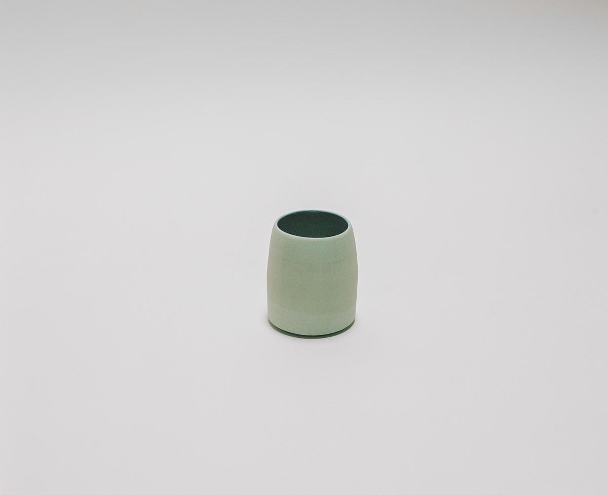 Saint Heron Ceramic Tumbler - Powder Blue