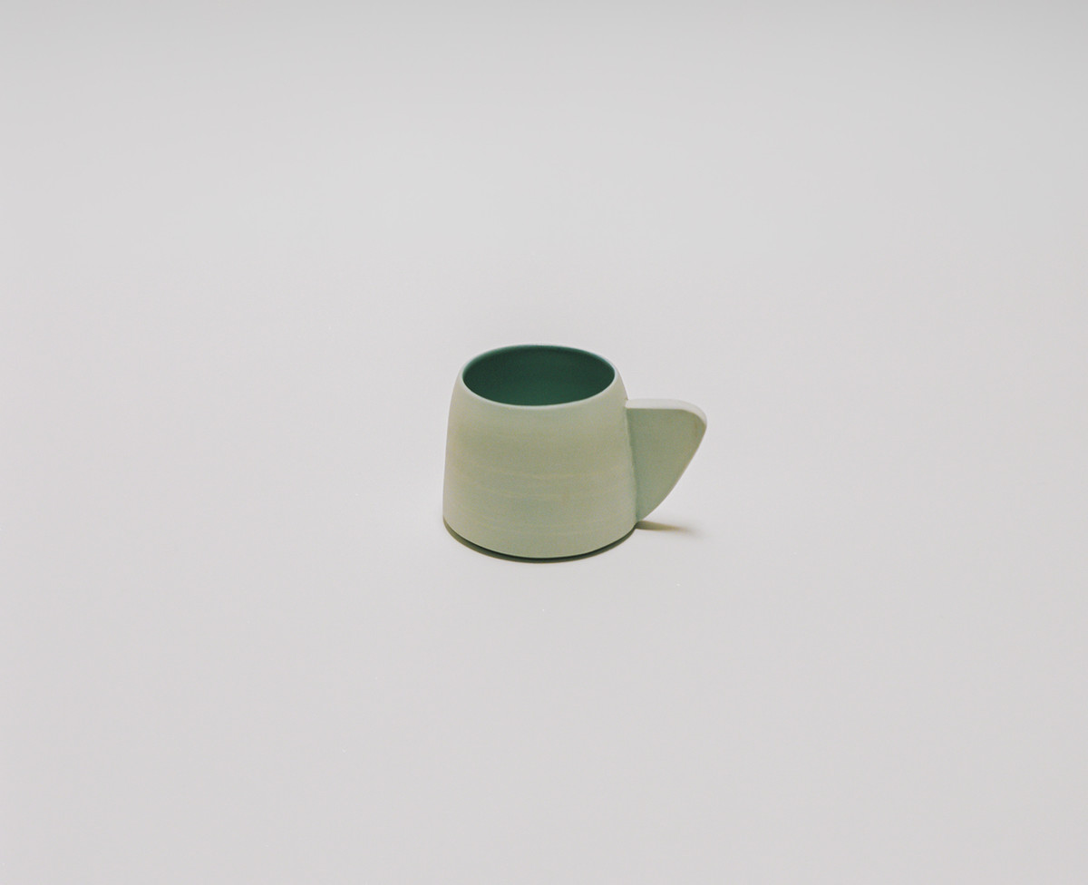 Saint Heron Ceramic Mug - Powder Blue