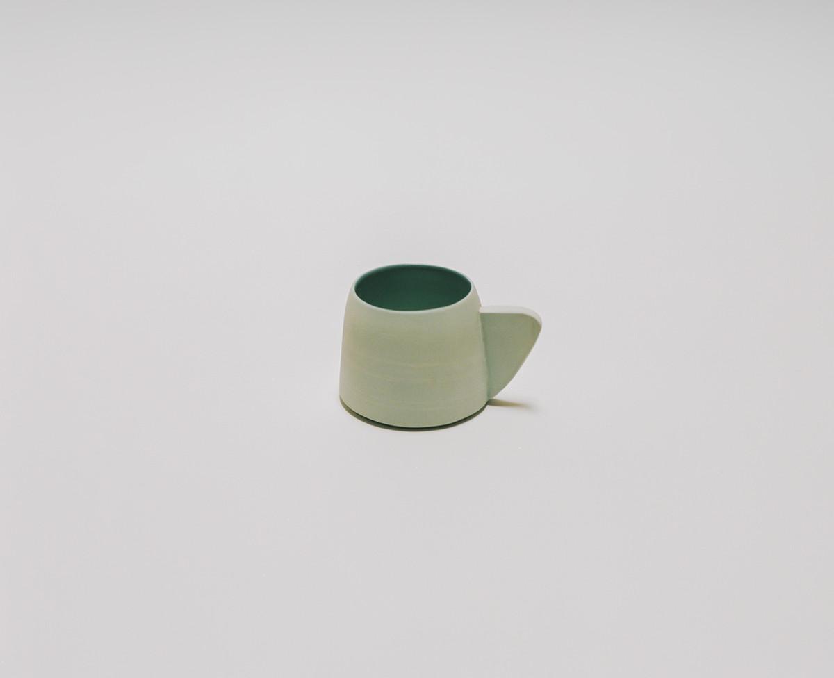 Saint Heron Ceramic Mug - Powder Blue