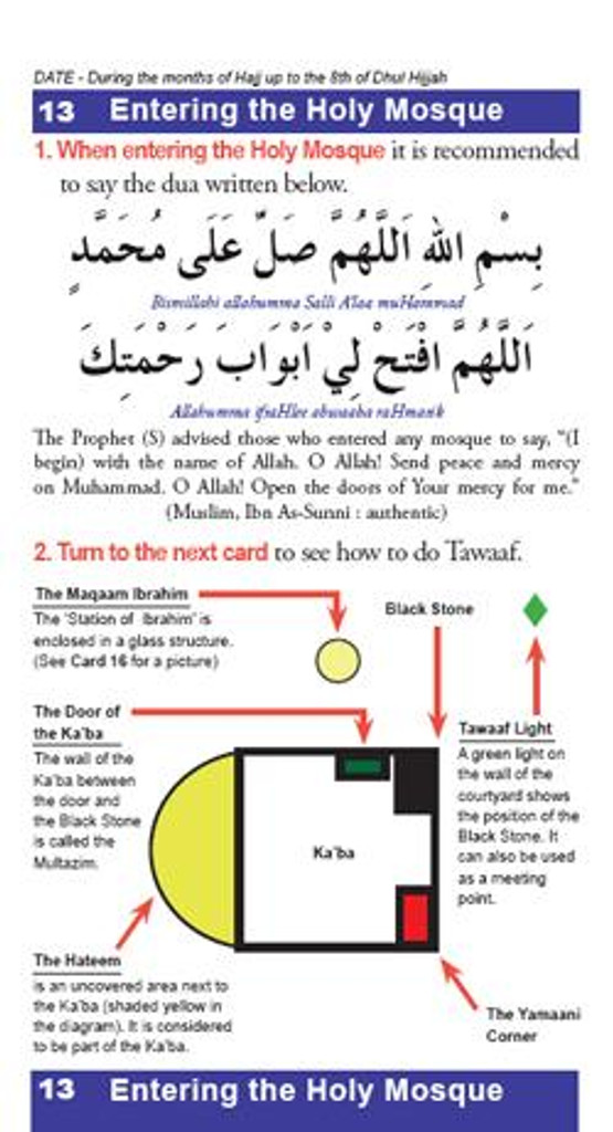 Hajj Made Easy - Portable Neck Guide   Hajj & Umrah made easy A step by, practical, unique and complete guide to Hajj & Umrah.   A must have book for a simple way to understanding all the religious rites.