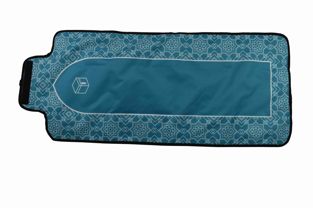 Travel Prayer Mat (8 FOLD ROSETTE)