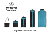 Travel Prayer Mat (8 Point Star Design)