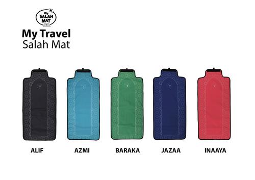 Travel Prayer Mat (8 Point Star Design)
