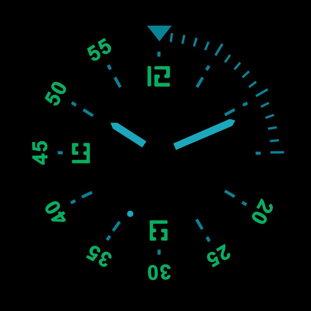 PHOIBOS REEF MASTER PY015C DLC 300M Automatic Diver Watch Black