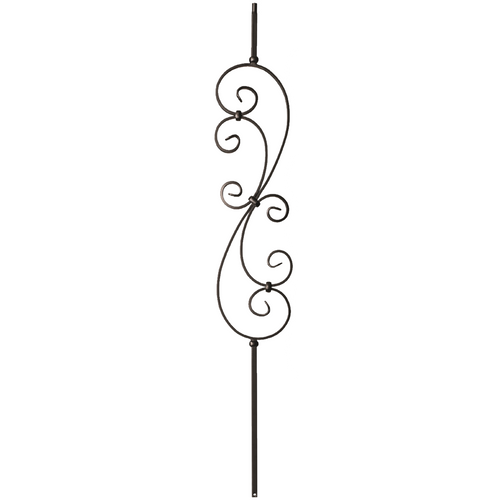 Decorative Scrolls balusters