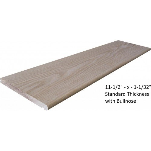 St. Louis Stair Treads, White Oak Stair Tread, Red Oak Stair Tread,