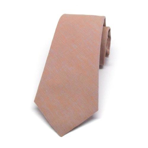 Coral & Grey Necktie