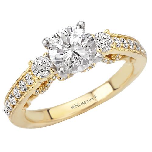 3-Stone Diamond Ring (117929-100Y)