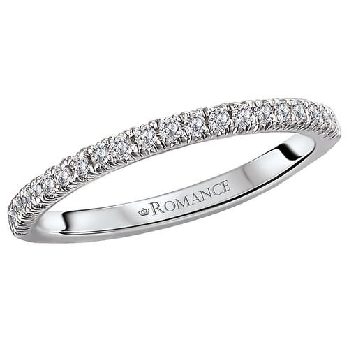 Curved Wedding Band (117940-W)