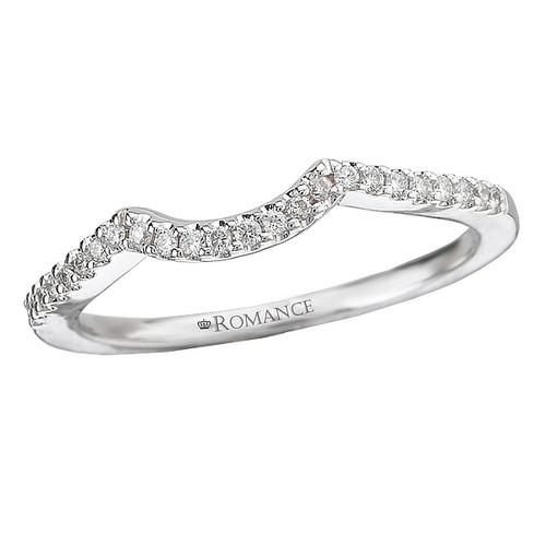 Curved Wedding Band (118103-W)