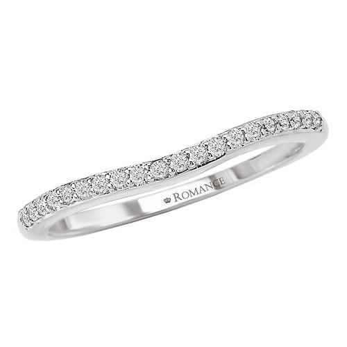 Curved Wedding Band (118166-W)