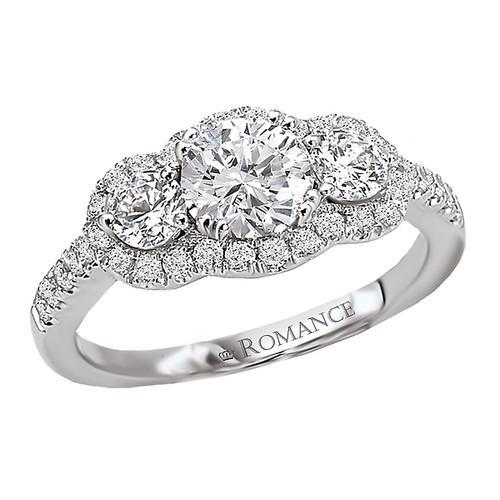 3 Stone Petite Diamond Ring (118214-040C)
