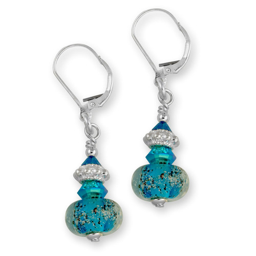 Delaware Beaches® Capri Sand Encased Earrings