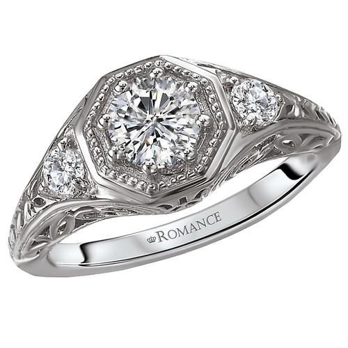 Classic  Semi-Mount Diamond Ring (118291-040SA)