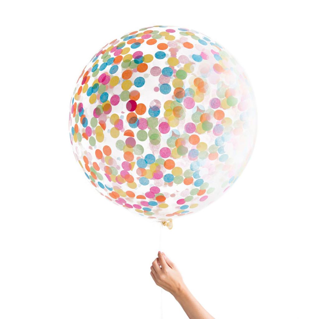 Jumbo Confetti Balloon, Assorted
