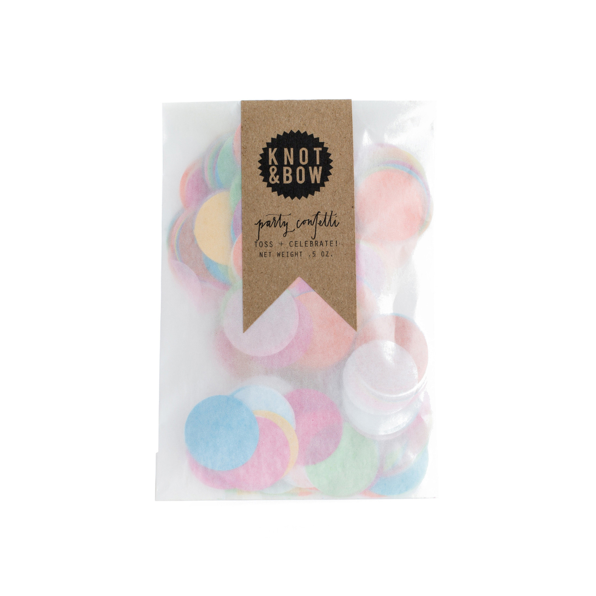Party Confetti Bag, Assorted