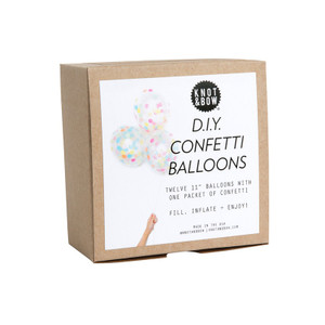DIY Confetti Balloons, Assorted