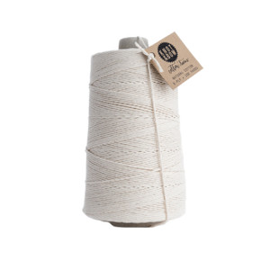 Jumbo Cotton Twine, Natural