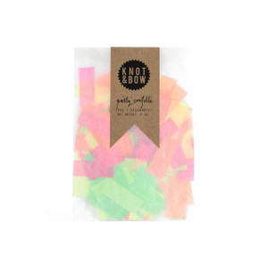 Party Confetti Bag, Neon