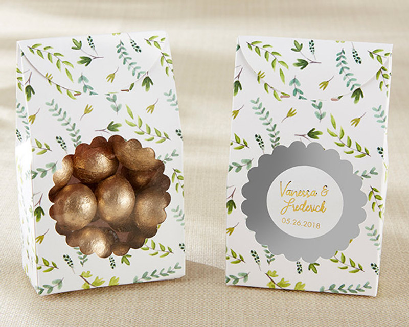 Botanical Garden Tent Favor Box (Set of 12)