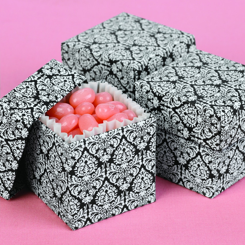 Damask 2 piece Favor Boxes