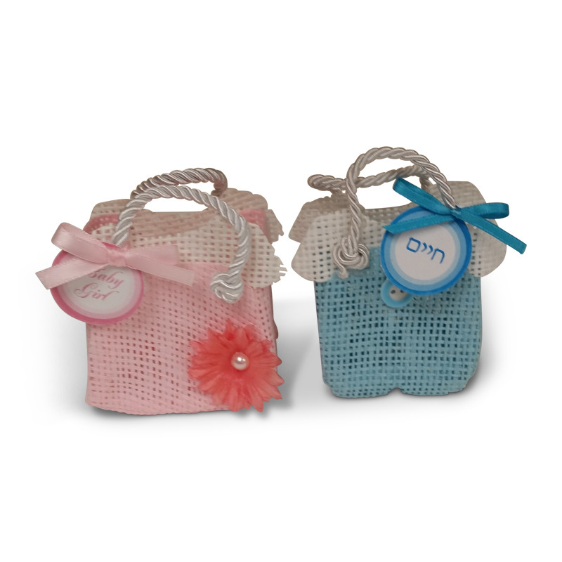Baby Dress & Overall Favor Pouch