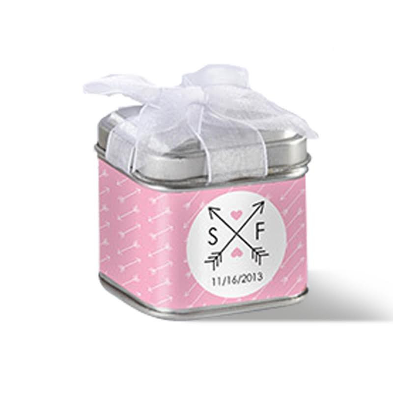 """UNEXPECTED TREASURES!"" FAVOR TIN - WEDDING (SET OF 12)"