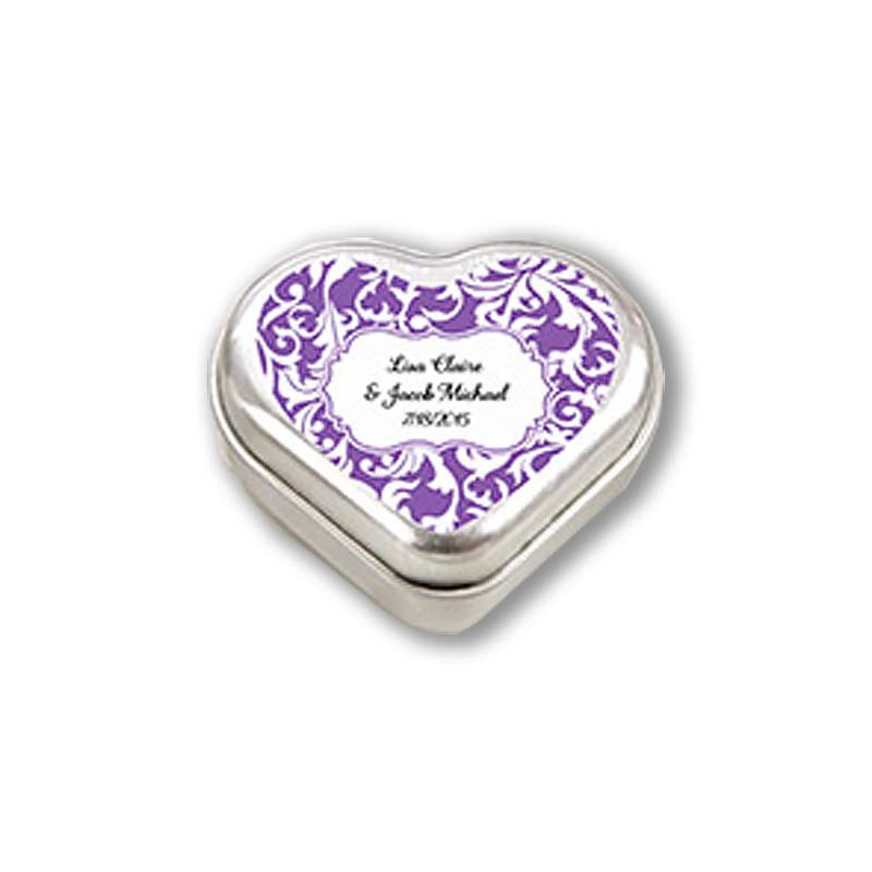 """Mint For You"" Heart-Shaped Mint Tin (Available Personalized)"