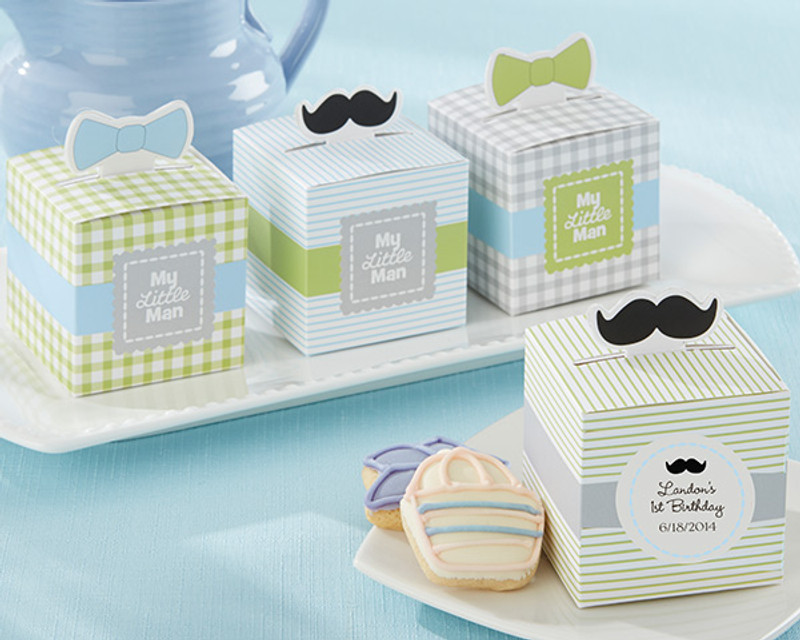 """My Little Man"" Favor Box (Set of 24) (Available Personalized) (limited quantities)"