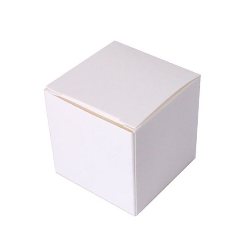 Cube Favor Boxes White or Black (10 Pack)