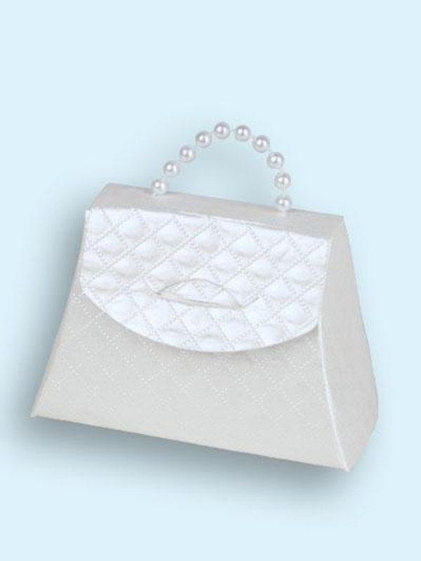 Grace Kelly Mini Purse White or Champagne