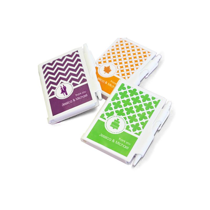 MOD Pattern Theme Notebook Favors