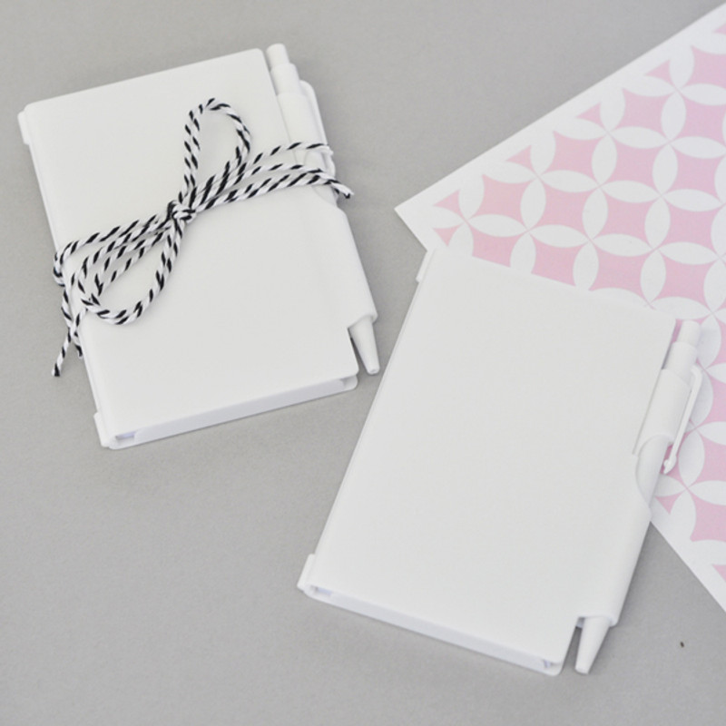 DIY Blank Notebook Favors