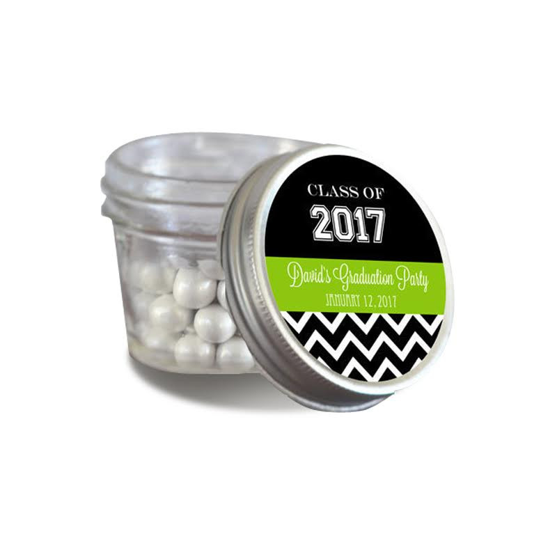 Graduation Small 4 oz Mason Jars