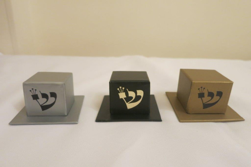 Two Piece Tefillin Box, Available In Silver, Black & Gold (Optional Personalization)