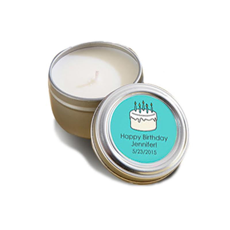 CANDLE TIN - BIRTHDAY