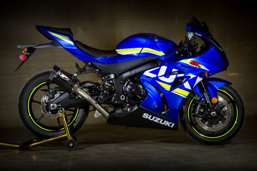 2017 GSXR1000 Full Race System With Full Stainless Steel Tubing