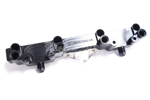 07-08 GSXR1000 Fuel Rail for Over-sized Injectors